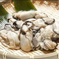 肉質で濃い味が特徴。広島県産「宮島牡蠣」ございます。