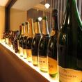 赤・白・ロゼ・・・豊富なワイン