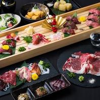 人気の肉寿司&馬肉を堪能!!