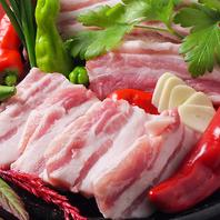 ◆上質!もち豚!サムギョプサル石焼◆