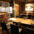 酒湊1階テーブル6名席が2卓