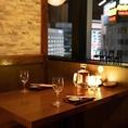 夜景を見ながらゆっくりしたお話をされたいときや、静かにお食事を楽しみたい方など、プライベートなお時間を過ごされたい方にぴったりです