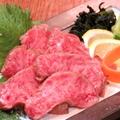 料理メニュー写真宮崎牛のタタキ
