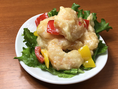 料理メニュー写真マヨったらエビマヨ