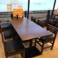 テーブル6名