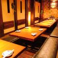 宴会個室は最大40名以上の完全個室です。