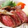 料理メニュー写真鹿児島県産 霜降り和牛たたき