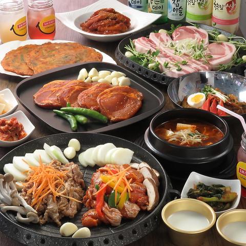 本場の韓国料理が楽しめるお店