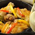 料理メニュー写真【蔵人おすすめ4】南部鉄を使った「阿波尾鶏」のローストチキン