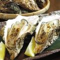 料理メニュー写真広島産焼カキ (1個)