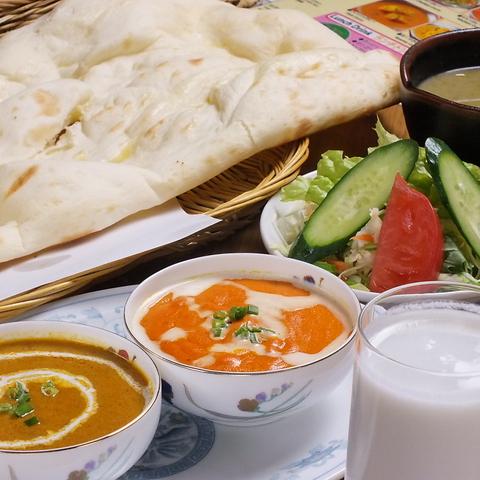 本場のインド料理が楽しめる☆東中神駅スグ!!☆カレーとナンが自慢のお店◎