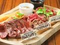 料理メニュー写真特選馬肉ステーキ盛り合わせ 約300g