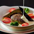 料理メニュー写真赤城牛チーズフォンデュハンバーグ