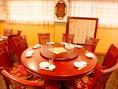 3階円卓のテーブル席