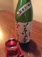 花の香 純米大吟醸(熊本)澄んだ味わいと上品な香りが絶妙。