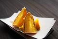 料理メニュー写真さつま芋の天ぷら