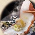 料理メニュー写真ねぎ塩タコの瞬間焼