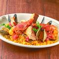 料理メニュー写真パエリア風魚介のリゾット