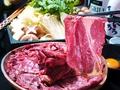 料理メニュー写真馬喰ろう名物 桜なべ 馬肉のすき焼き 御一人前