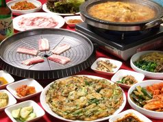 韓国料理 民俗村の写真