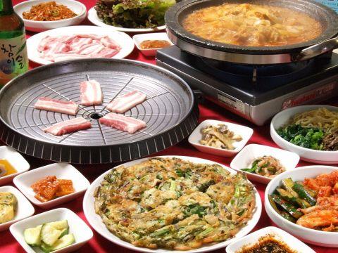 韓国料理 民俗村