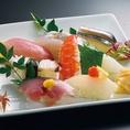 鮮魚の寿司食べ放題!は3500円、4000円、プランで♪