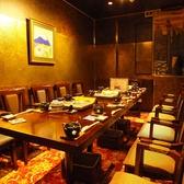 大人数での会社宴会などにお勧めの完全個室となっております。コチラのお席のご予約はお早めに★