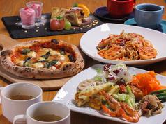 石窯ピザ LIBERO cafeのコース写真