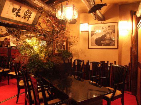 吉祥寺に40年以上ものあいだ愛され続けている老舗。自慢の料理を心地良い空間でどうぞ