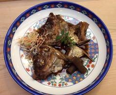 料理メニュー写真鯛のかぶと煮
