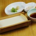 料理メニュー写真自家製 竹豆冨 特製割醤油
