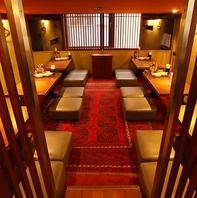 【新宿三丁目駅1分】大型宴会向けの大きい個室席完備!