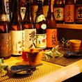自慢のカウンター★ソファー席★梅田 肉の寿司 和食 足立屋