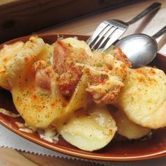 ジャガイモ明太子のチーズ焼き