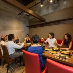6名以上の宴会におすすめ♪シーンを選ばないテーブル個室もおすすめです!大人数のご利用に★