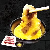 味宝卵をくぐらせて頂くすき焼きカルビは絶品♪