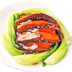 豚バラと高菜の煮込み