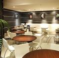 プラネタリウムの他に、ちょっとお茶やパスタが食べられるカフェスペースのご用意が御座います!お好きなスペースをご利用下さい