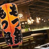 本場博多屋台を模した明るい雰囲気が魅力!
