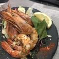 料理メニュー写真赤海老のガーリック焼き