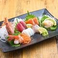 料理メニュー写真よっとこの新鮮魚介盛り