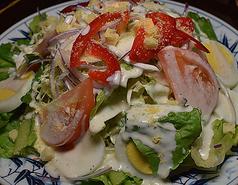 シーザーサラダ(シーザードレッシング)(Caeser salad)
