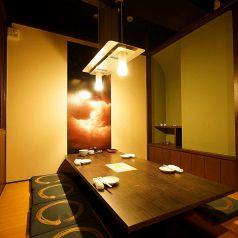 少人数の飲み会急な飲み会でも必ず個室ご案内いたします旅館の様なゆったりできる空間を提供いたします