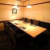 優雅な完全個室5~8名様。当店人気NO1の完全個室。