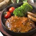 料理メニュー写真肉の極み!発酵熟成肉ハンバーグ
