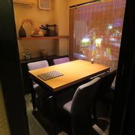 記念日や接待などに…極上のお料理と空間