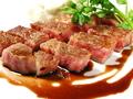 料理メニュー写真和牛サーロインステーキ