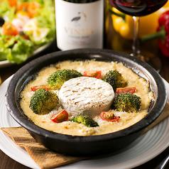 カマンベールチーズとブロッコリーのきのこグラタン