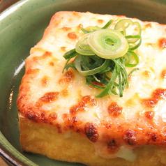 厚揚げ豆腐の明太マヨチーズ焼き