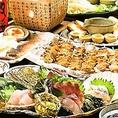 炭旬のご宴会コースは3,500円(税込)からご用意!全てのコースに飲み放題が付いております!丁寧に焼き上げたジューシーな焼き鳥、旬の食材を使用した逸品料理などお得にお楽しみ頂けるお得なコース内容で大満足間違いなし!
